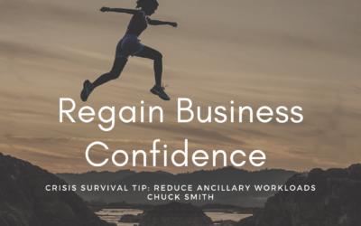 Crisis Survival Tip: Reduce ancillary workloads