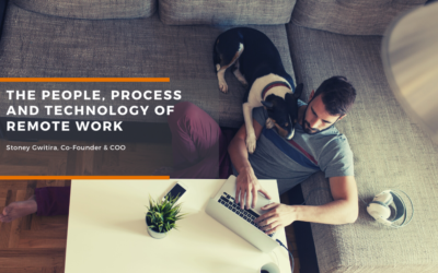 The people, process and technology of remote work.